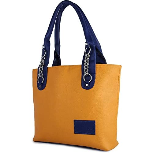 TYPIFY® Leatherette PU Handbag for Women and Girls College Office Bag, Stylish latest Designer Spacious Shoulder Tote Bag Purse. Gift for Her