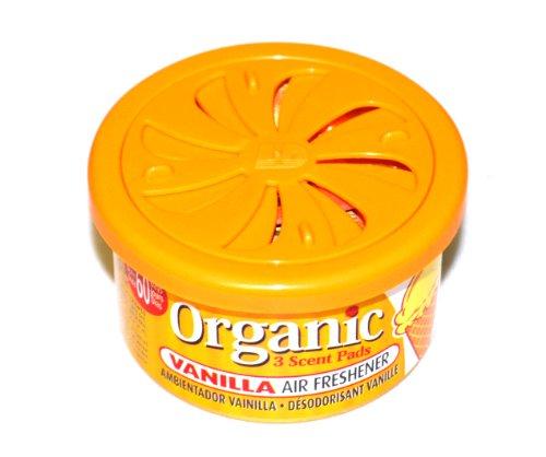 LD Organic Scents Cans for Cars Duftdose Lufterfrischer Vanilla - Vanille 38g