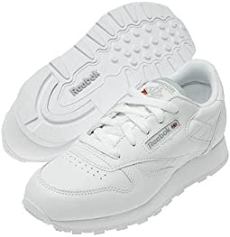 02f0e85a3da White. 139. Reebok Kids. Classic Leather (Big Kid).  60.00. 5Rated 5  stars5Rated 5 stars. White. 172. Reebok Lifestyle
