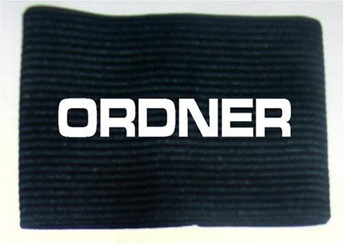 Unbekannt Armbinde bedruckt mit ORDNER/schwarz / 3304