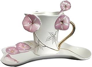 XY&GKLa taza de café de porcelana, esmalte, Plato, taza de café de cerámica de estilo europeo, Inglés creativo juego de t...