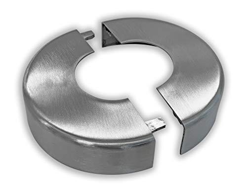 Rosette ø105x25mm Edelstahl V2A 2-teilig (für Grundplatte E2/S2)