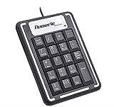 Numeric Keypad, Portable Slim Mini Number Pad for Laptop Desktop Computer PC