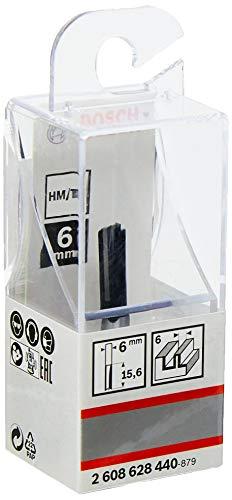 Fresa reta Bosch 6 mm, D1 19 mm, L 19,58 mm, G 51 mm