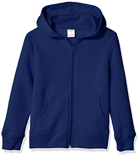 Amazon Essentials Fleece Zip-up fashion-hoodies, Blau (Navy), ((Herstellergröße: X-Small)
