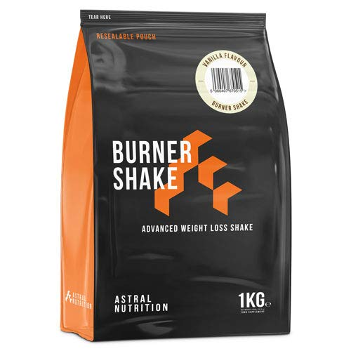 Burner Shake - 1 Month Supply Vanilla | Fat Burning Weight Loss Shake | Contributes to Metabolism | Suppresses Appetite