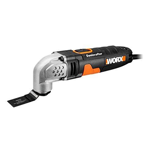 WORX WX667 Multifunktionswerkzeug elektro 230W – Oszillationswerkzeug mit 20.000 Schwingungen pro Minute für effektives Arbeiten