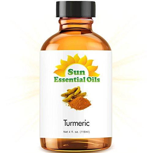 Turmeric Essential Oil (Huge 4oz Bottle) Bulk Turmeric Oil - 4 Ounce