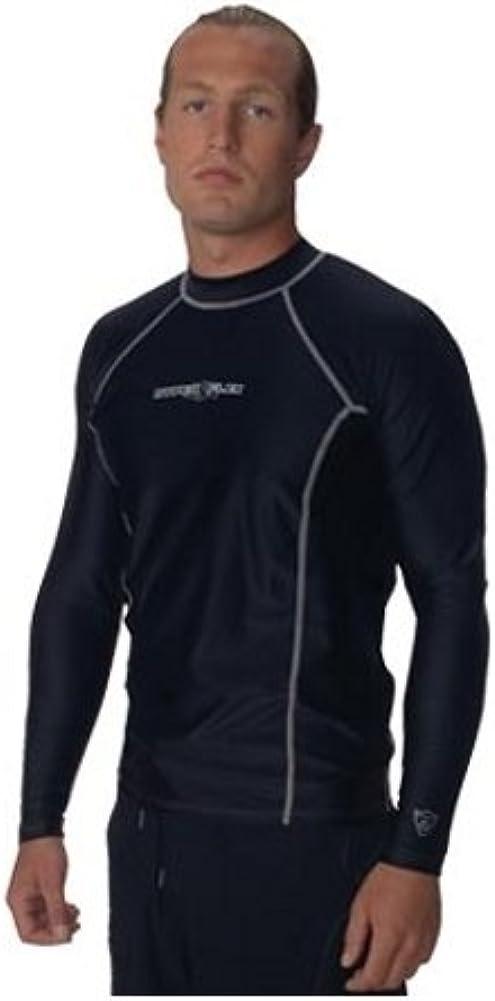 NeoSport Unisex Adult Loose Fit Long Sleeve Rash Guard-XSmall