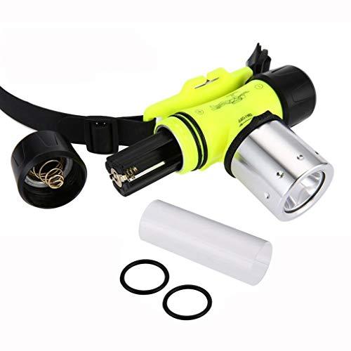 kashyk Tauchen 30M Kopfleuchte,90° Einstellbarer Abstrahlwinkel Blinker,3 Helligkeiten LED Stirnlampe Kopfleuchten Wasserdicht Superhelle LED Stirnlampen Kopflampen für Angeln Laufen Joggen Jogging