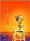 Affiche Officielle du Festival Cannes 2019 Grand Format (160 x 120 cm PLIEE)