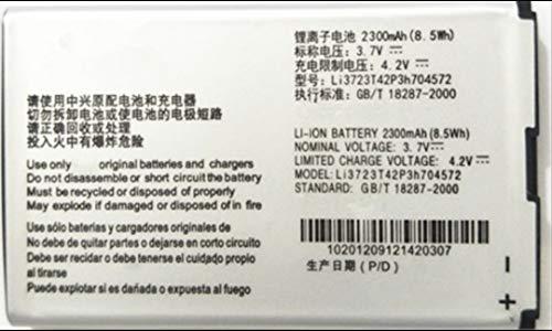 SVNEO Mobile Battery for ZTE Li3723T42P3h704572 2300 mAh Li-Ion 100% High Backup Mobile Battery for ZTE MTC 833F 831FT 4G WiFi Router Modem ZTE MF90 MF90+ MF90M MF91 (Li3723T42P3h704572)