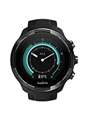 Suunto 9 Baro: This durable multisport GPS watch is designed for athletes who demand the best; Featuring over 80 sports modes, a barometer for accurate altitude info, and wrist heart rate monitor Built To Last: Made for training, racing and extreme a...