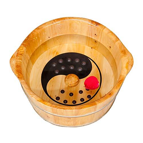 Best Buy! Foot Massagers Foot Bath Barrel Wash The Foot Bucket Pedicure Bucket Cedar Health Bucket S...