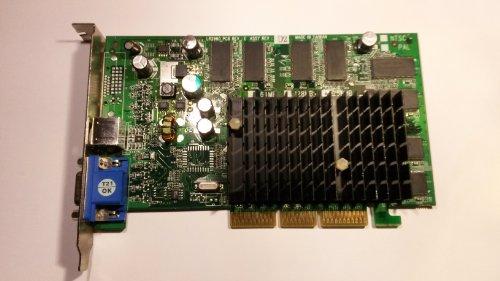 Leadtek LR2969 FX5500 256MB AGP VGA TV-out