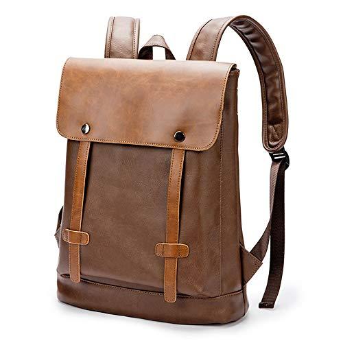 リュック・バックパック メンズ 大容量 上層牛革 ファッション鞄 お洒落 ユニセックスバッグ 運動鞄 カジュアル 調整可能ベルト