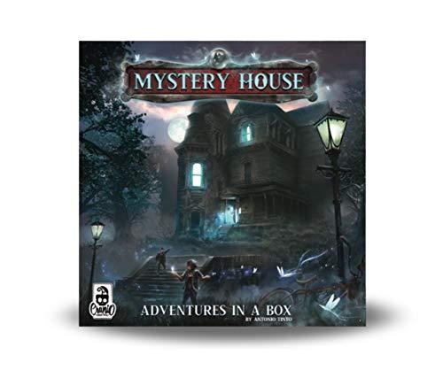 Cranio Creations- Mystery House Gioco da Tavolo, Colore Blu, 907B6E1A91