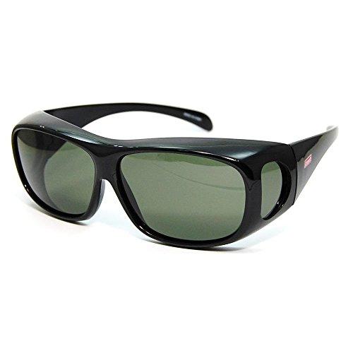 コールマン アウトドアサングラス 偏光レンズ CM-4019-3 UV99%カット オーバーグラスタイプ(眼鏡対応) トリアセテート CM-4019-3