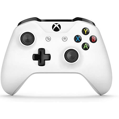 Microsoft Xbox One Wireless Video Gaming Controller, White (Renewed)