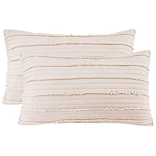 BOSOWOS Queen Size Pillow Protec...