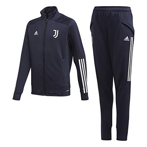 adidas Juventus FC Stagione 2020/21 JUVE TK Suit Y Tuta Bambino, Legink/Orbgry, 140