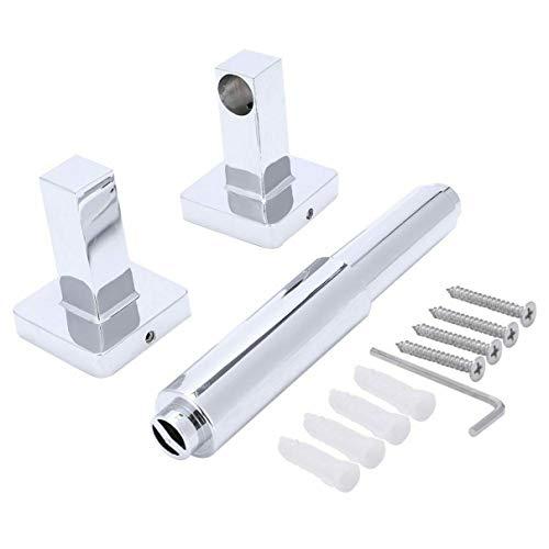ACEHE Portarrollos de papel para colgar toallas de cocina, armario y puerta de armario de acero inoxidable duradero