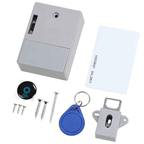 Digitales RFID-Schrankschloss, verstecktes Schloss, DIY, unsichtbar, elektronisches Sauna-Schuhschloss, Sicherheit, intelligentes Schrankschloss, schlüssellos, ohne Lochloch