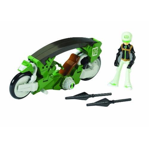 Giochi Preziosi - CCP36960 Ben 10 Omniverse, Moto Trasformabile con 1 Persona, Assortito
