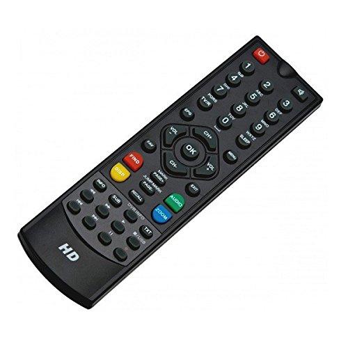 Fernbedienung für Xoro HRS 8540 und weitere Modelle (siehe Auflistung) 43t / 30504 Xoro 8580 für Receiver : Xoro : HRS 8580 ; HRS 8540 ; i-set: 810 HD ; Easy One: HX 40 HDTV ; HX 40-12 ; Titan: Hd 1000 ; FaVal: Mercury HS 100 ; Digiquest: 8100CA ; Beware: HK540 ; JB007 CI HD ; Opticum: AX 300