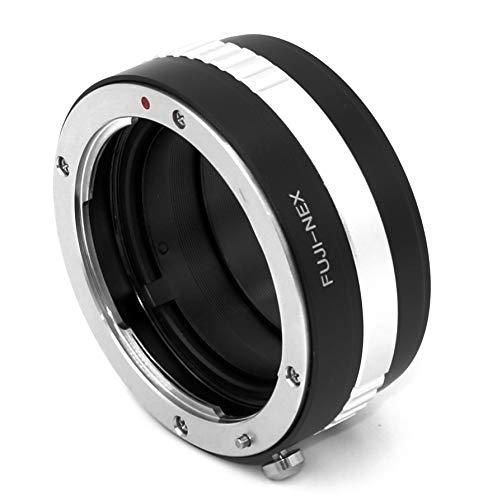 Fuji-NEX - Adaptador de objetivo (compatible con objetivos Fuji AX (antiguos X-Mount)...