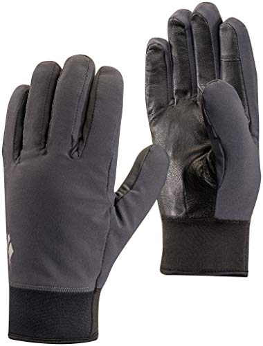 Black Diamond Midweight Softshell Guantes, Unisex Adulto, Smoke, Extra Small