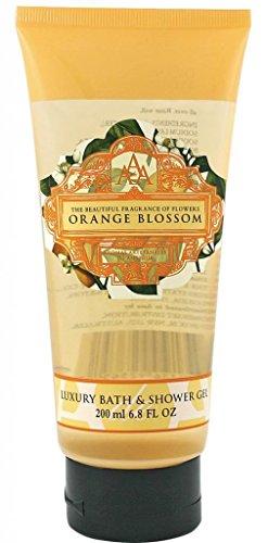 Aromas Artesanales De Antigua Floral Orange Blossom Luxury Bath And Shower Gel 200ml