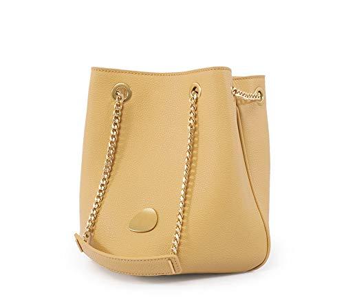 QCYISI Bolso Bandolera de Color sólido Original para Mujer, Bolsa de Cubo...