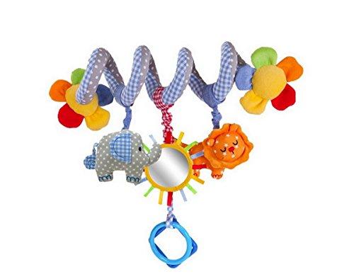 Twisty Spirale Activités Hanging Jouet de Lit Poussette Bébé Jouet Hochet