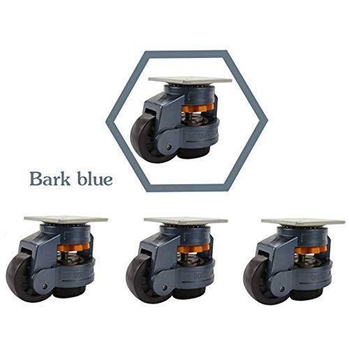Ayj GD-60F Retractable Leveling Machine Lenkrollen - 4er-Pack - Premium-qualität - Schwerlast Transportrollen - 1600lbs Kapazität pro Rolle - 5 Farben