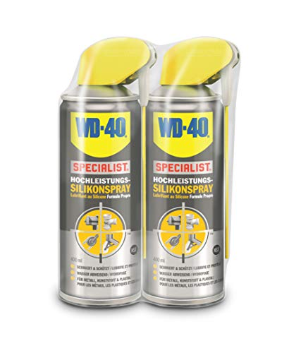 2 x WD-40 Specialist Silikonspray 400ml Smart Straw