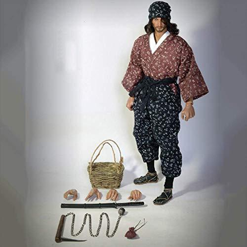ZSMD Shishido Baiken - Figura de acción femenina escala 1/6 para obras de arte, dibujos, fotografía, bricolaje o simplemente colección simple