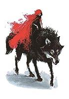(ファンタジー) THE FANTASY タトゥーシール 狼 ウルフ Wolf-1【中型・A5】 (hb843)