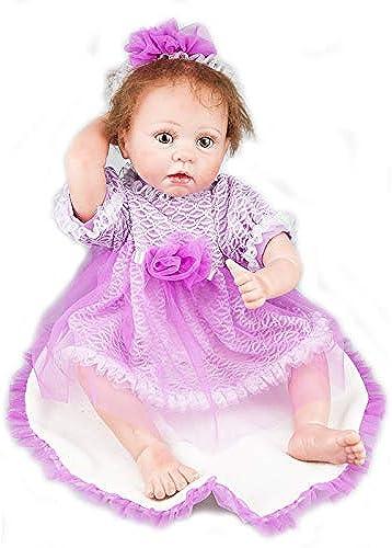 50 CM nette silikon wiedergeburt baby puppe simulation puppe spielzeug baby geschenk neugeborenes geburtstagsgeschenk spielzeug 24 zoll