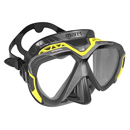 Mares - X-Wire Maske (schwarz/gelb)