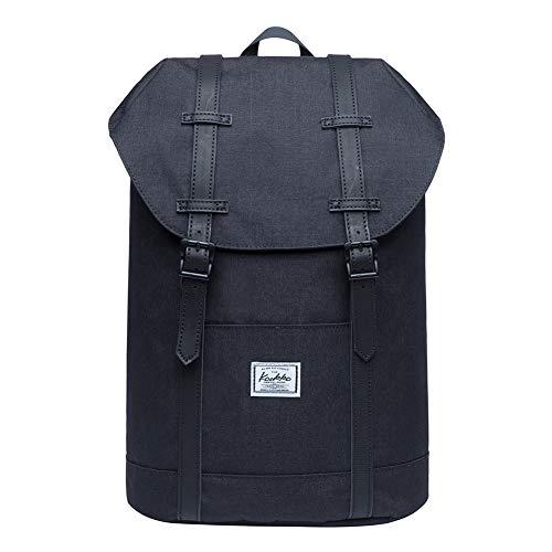 KAUKKO Rucksack Damen Herren Schön und Praktisch Rucksack für Schule, Uni, Beruf und Freizeit mit Laptopfach Tasche für den Alltag 13L