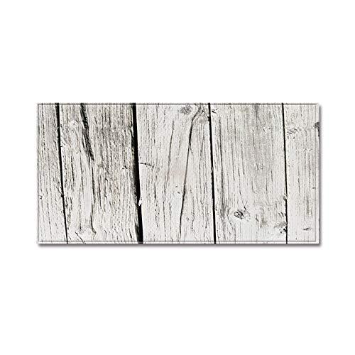 Youzha houtnerf keukentapijt rechthoekig absorberend bedmat deurmat lange strepen 3D olieabsorptie keukentapijt antislip 4,40 x 60 cm