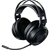 Razer Nari Essential ゲーミングヘッドセット THX 360度立体音響 無線 冷却ジェルパッド PC PS4 PS5 Switch スマホ 【日本正規代理店保証品】 RZ04-02690100-R3M1