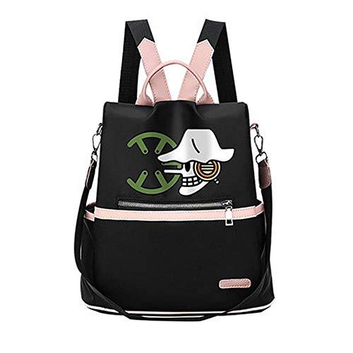 bgdo.ccccAnime One Piece Luffy Backpack Rucksack Bookbag Schoolbags Travel Bag Mochila Laptop for Teens Students Men Women,4