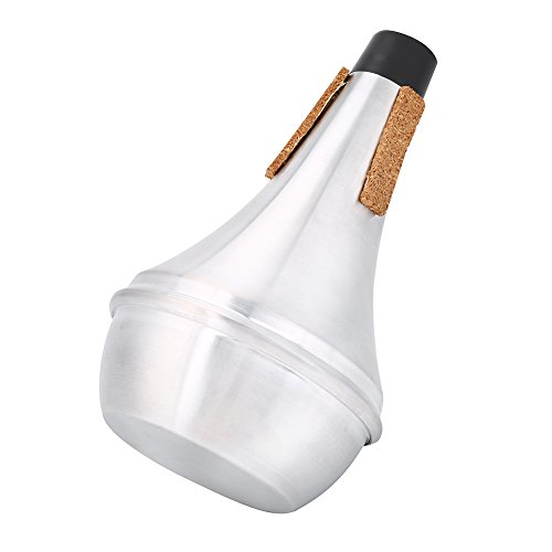 Drfeify Sordina de Trompeta, Durable Metal Sordina de Trompeta de Práctica Silenciador Piezas Accesorias