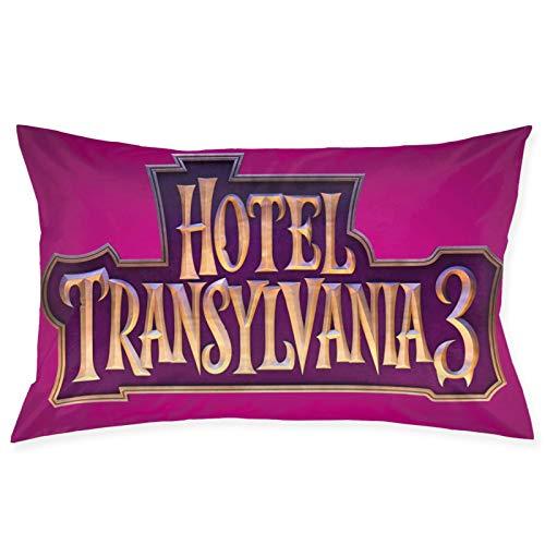 Hotel Transy-Lvania - Funda de almohada cuadrada suave y lisa, lavable, grande, para sofá, silla, cama y sofá, 50,8 x 76,2 cm