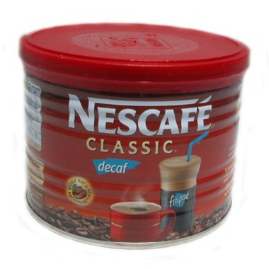 Greek Nescafe Classic Decaf Instant Frappe Coffee 50 gr by Nescafé Classic