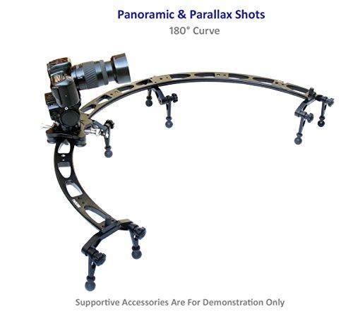 shootvilla『万能調節可能折りたたみ式脚カーブ180度スライダー』