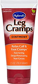 Hyland's Gel Pain Relief, Leg Cramp Ointment, Natural Relief of Calf, Leg and Foot Cramp, 2.5 oz