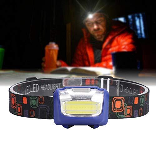 Leichte hochelastische LED COB Stirnlampe zum Laufen(blue)